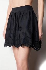 Umgee USA Black Doily Skirt - Product Mini Image