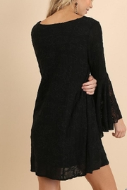 Umgee USA Black Lace Dress - Side cropped