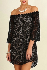 Umgee USA Black Lace Dress - Product Mini Image