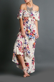 Umgee USA Floral Print Maxi - Front full body