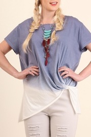 Umgee USA Blue Ombre Top - Product Mini Image