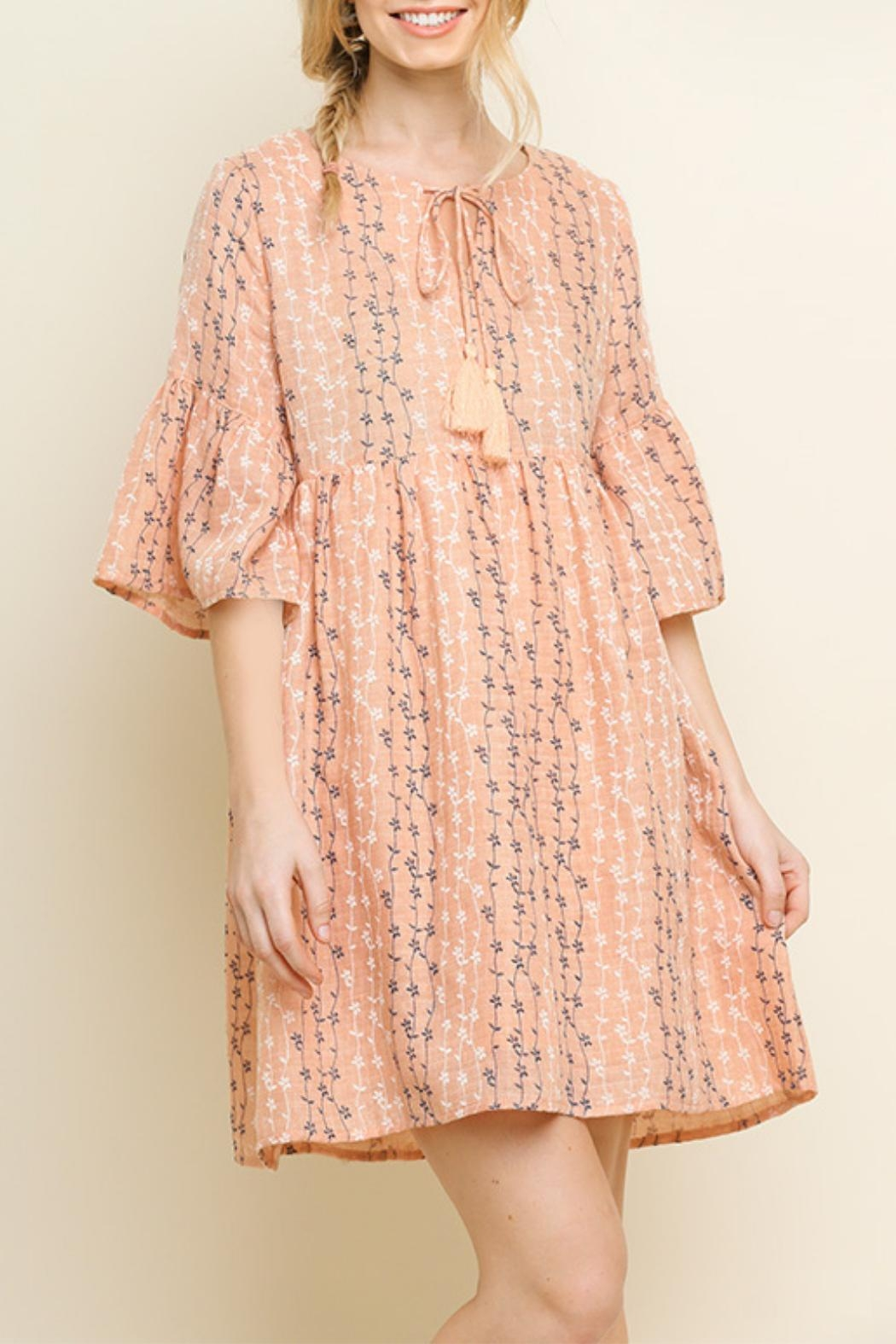 Umgee USA Blush Babydoll Dress - Main Image