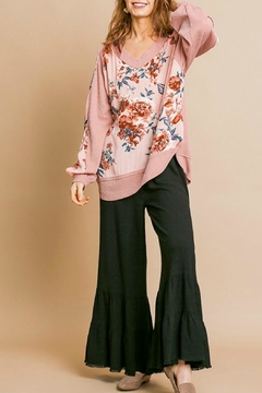 Umgee USA Pink Floral Top - Product List Image