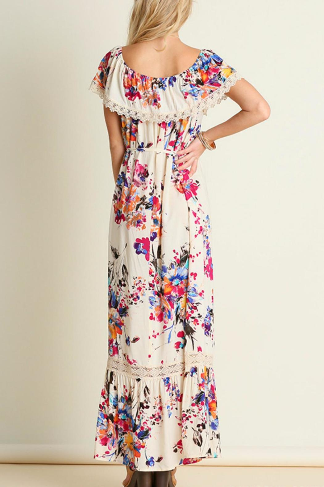 Umgee USA Floral Maxi - Front Full Image