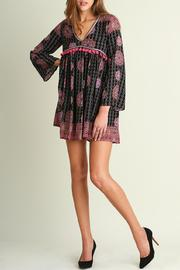 Umgee USA Boho Tassel Dress - Product Mini Image