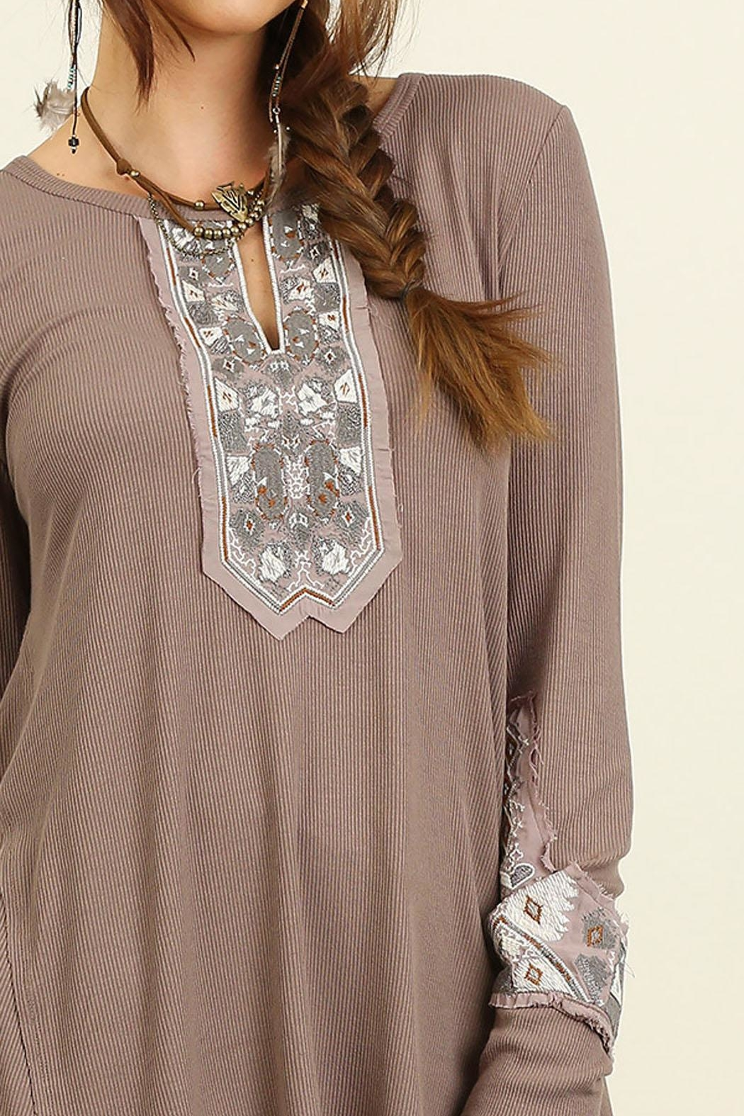 Umgee USA Boho Top - Front Full Image
