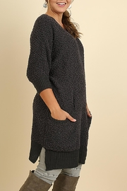Umgee USA Boucle Sweater - Front full body