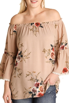 Shoptiques Product: Brown Floral Top
