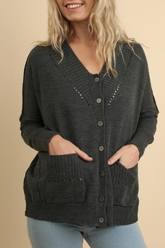 Shoptiques Product: Button-Up Cardigan Sweater