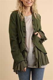 Umgee USA Button Up Jacket - Front cropped