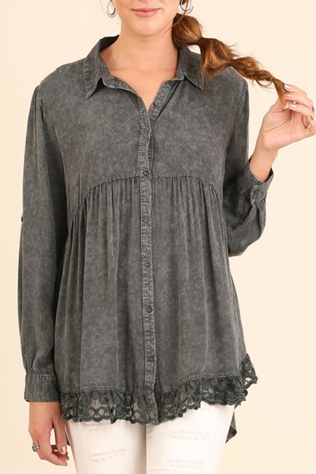 bab82fbf1ac102 Umgee USA Button Up Tunic from Colorado by Rock N  Roses Boutique ...