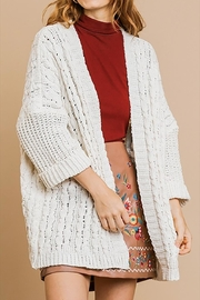 Umgee USA Cable Knit Cardigan - Product Mini Image