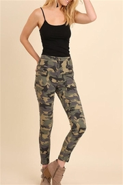 Umgee USA Camo Zipper Pants - Product Mini Image