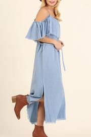 Umgee USA Cold Shoulder Maxi - Side cropped