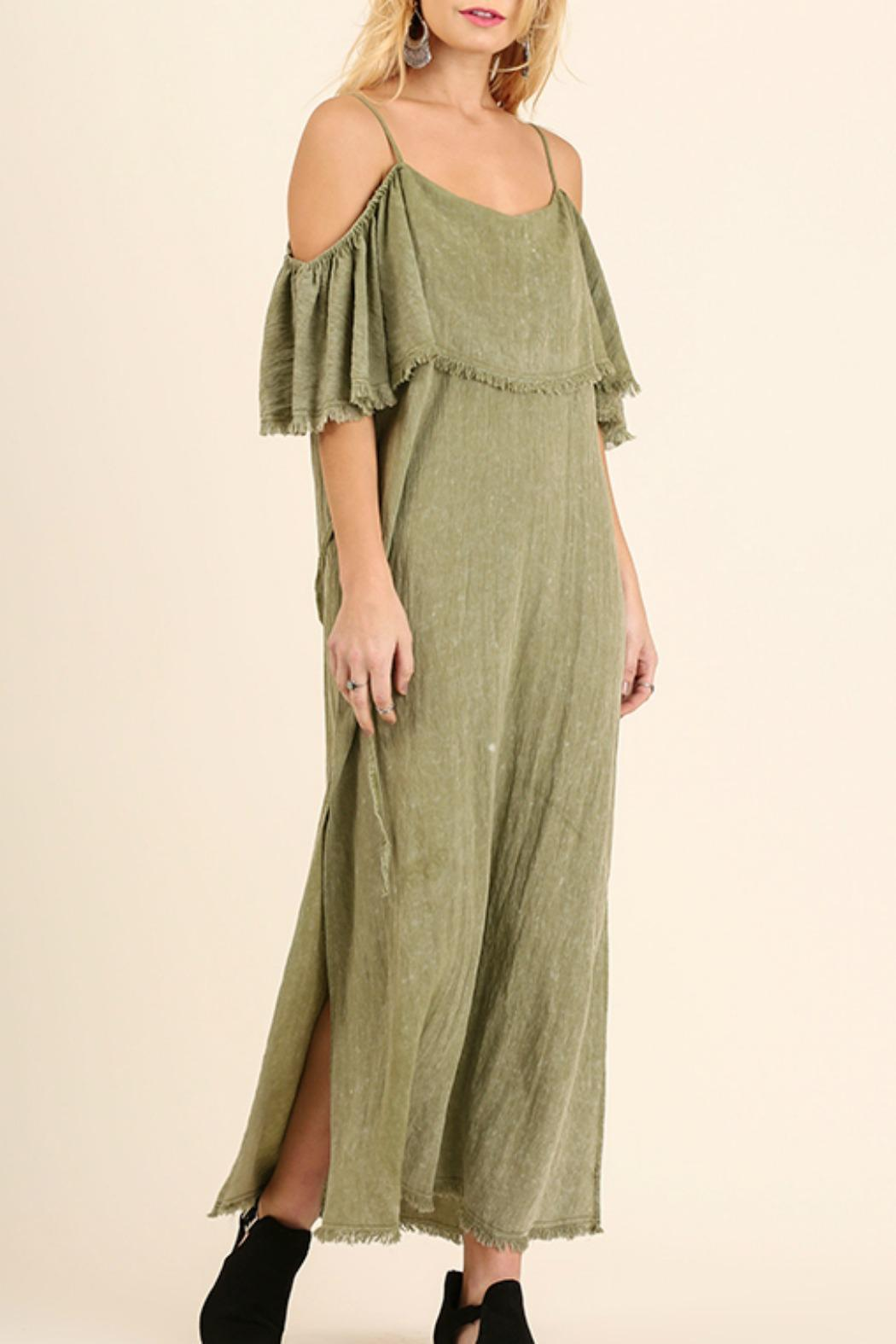 Umgee USA Cold Shoulder Maxi - Main Image