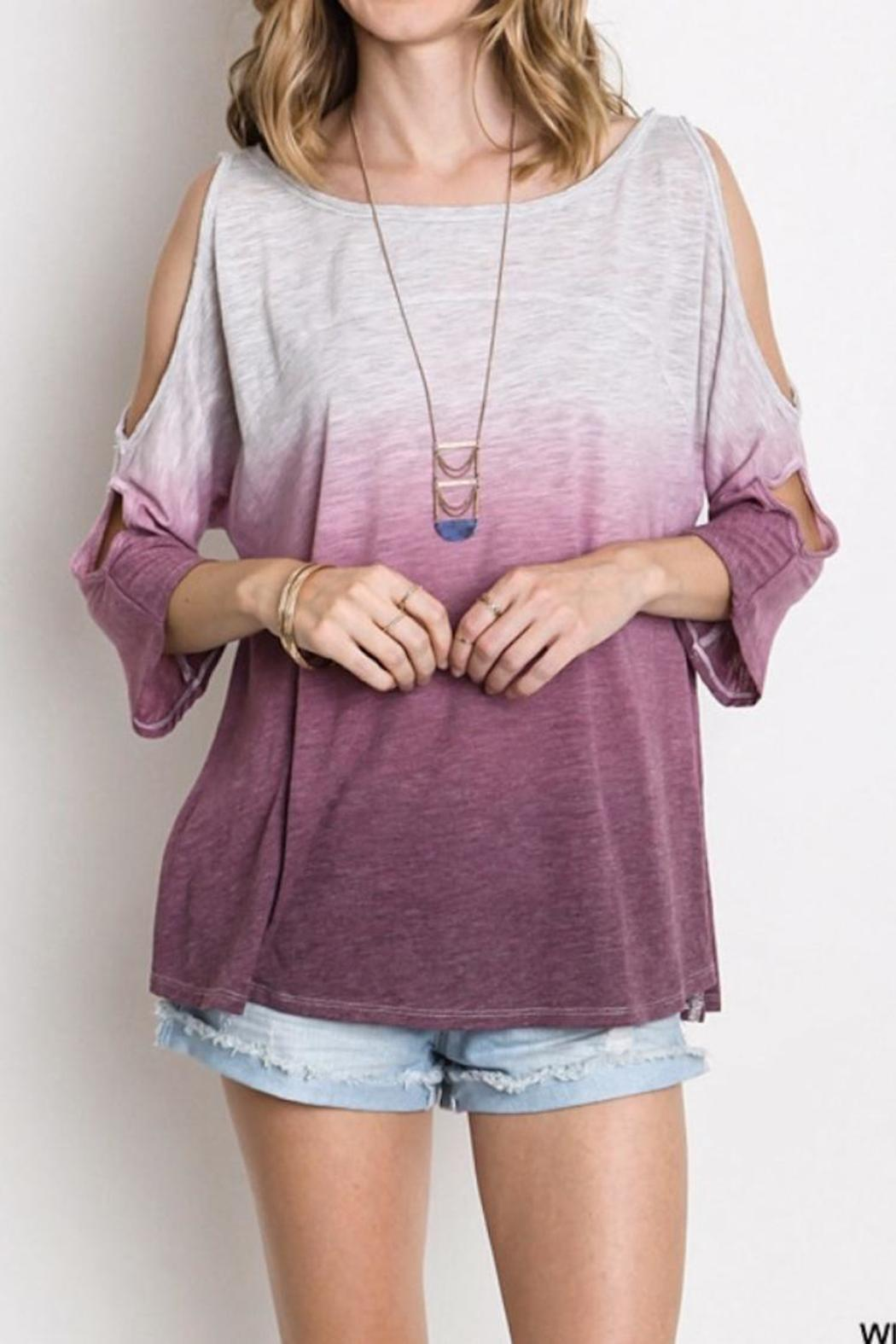ea3d7501a8860 Umgee USA Cold Shoulder Top from Georgia by The Peach Pistol ...