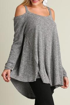 Shoptiques Product: Cold Shoulder Tunic