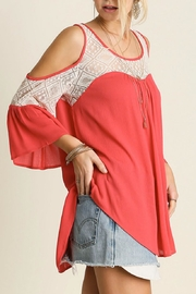 Umgee USA Coral Cold Shoulder - Product Mini Image