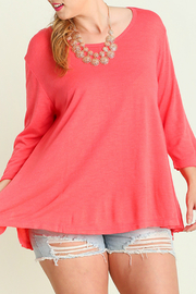 Umgee USA Coral Lightweight Sweater - Product Mini Image