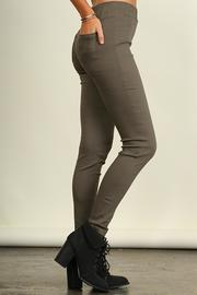 Umgee USA Cotton Stretch Pants - Front full body