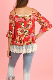 Umgee USA Couch Floral Lace - Side cropped