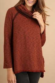 Umgee USA Cowl Neck Sweater - Product Mini Image