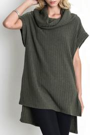 Umgee USA Cowl Neck Tunic - Product Mini Image
