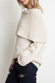 Umgee USA Cozy Ribbed Sweater - Side cropped