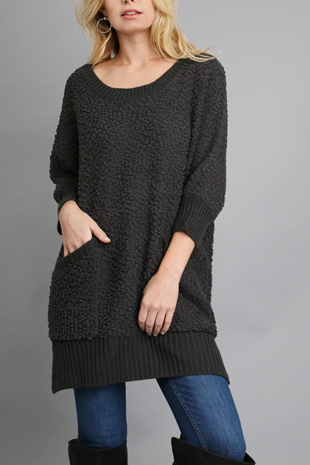 Umgee USA Cozy Tunic Sweater from Texas by BareTrees Boutique ...