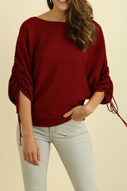 Umgee USA Crimson In Fall Top - Product Mini Image