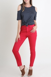 Umgee USA Crimson Skinny Jeans - Front cropped