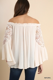 Umgee USA Crochet Bell Sleeves - Front full body