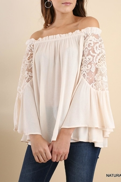 Shoptiques Product: Crochet Bell Sleeves