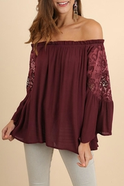 Umgee USA Crochet Bell Sleeves - Product Mini Image