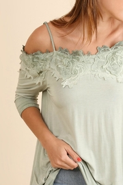 Umgee USA Crochet Open Shoulder - Side cropped