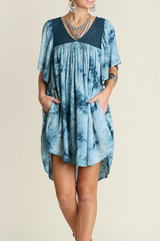 Umgee USA Crystal Washed Dress - Product Mini Image