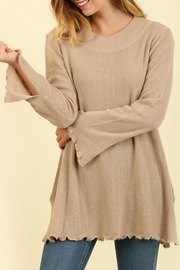 Umgee USA Curly Hemmed Sweater - Product Mini Image