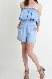 Umgee USA Denim Darling Romper - Product Mini Image