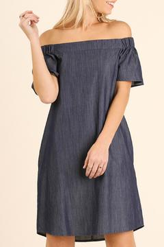 Shoptiques Product: Denim Off Shoulder