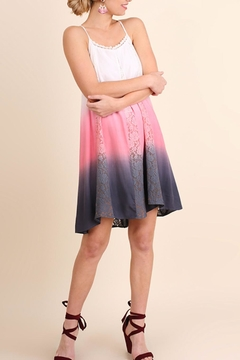 Shoptiques Product: Dip Dye Ombre Dress