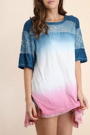 Umgee USA Dip Dye Tunic - Product Mini Image