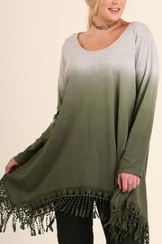 Umgee USA Dip Dye Plus Tunic - Product Mini Image