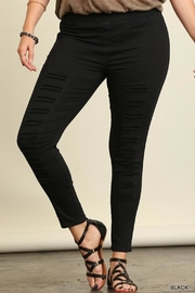 Umgee USA Distressed Jegging - Front full body
