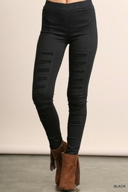 Umgee USA Distressed Jegging - Front cropped