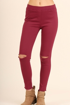 Shoptiques Product: Distressed Knee Jegging
