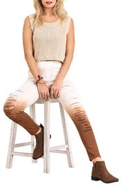 Umgee USA Distressed Ombre Jeggings - Product Mini Image