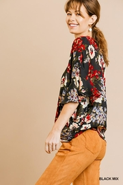 Umgee USA Dolman Sleeve V-Neck - Side cropped