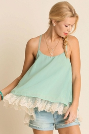 Umgee USA Double Layered Tank-Top - Front cropped