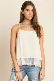 Umgee USA Double Layered Tank-Top - Product Mini Image