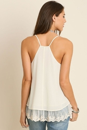 Umgee USA Double Layered Tank-Top - Front full body